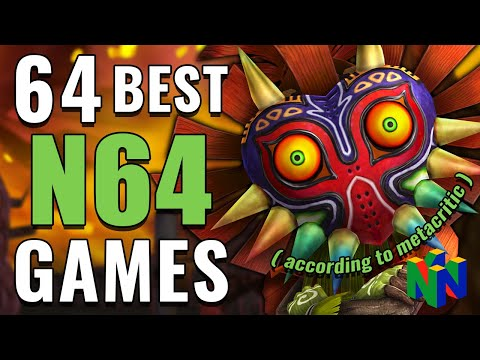 Top 64 N64 GAMES OF ALL TIME (According To Metacritic)