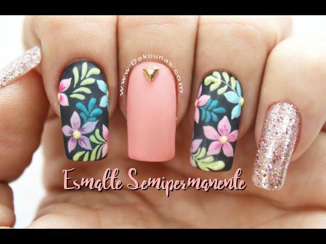 Decoración de uñas en Esmaltado semipermanente ♥ Deko Uñas