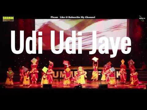 UDI UDI JAYE full song ||RAEES||GARBA|| Shiamak London || udi udi jaye dance|| shah rukh khan