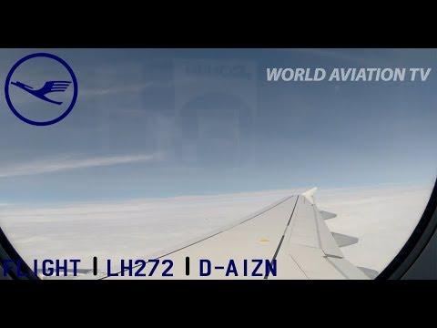 Lufthansa A319 LH272 Frankfurt-Milan Linate Full Flight [HD]