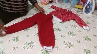 COMO FAZER CALÇA INFANTIL DE INVERNO/1