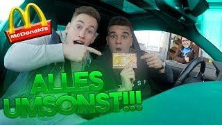 McDonalds PRANK | Mit FAKE VIP-KARTE (alles umsonst) bezahlen!