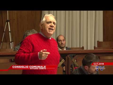 CONSIGLIO COMUNALE VITTORIO VENETO - Seduta del 12.11.2018