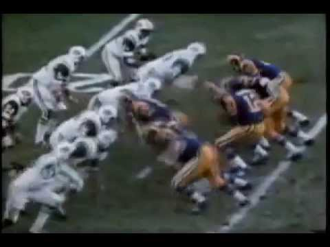 Los Angeles RAMS Highlights 50s 60s 70s YouTube