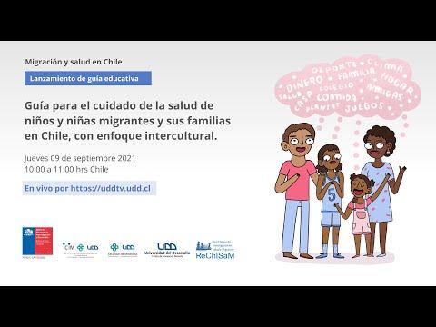 Lanzamiento   Guía para el cuidado de la salud de niños y niñas migrantes y sus familias en Chile