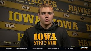 Nate Stanley Interview | Iowa | Big Ten Football