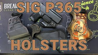 5 Options For Sig P365 Holsters