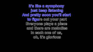 glorious by david archuleta (karaoke with lead vocals)