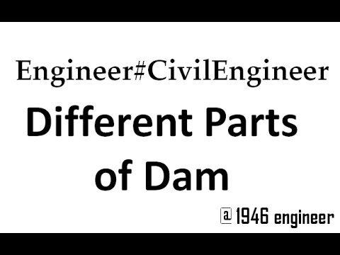 Parts of a Dam