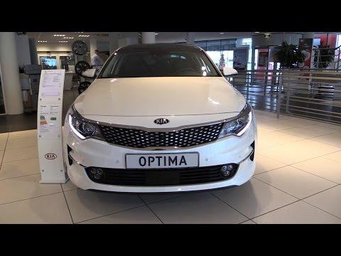KIA Optima 2016 In Depth Review Interior Exterior