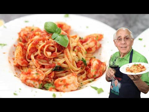 shrimp-linguine-with-tomato-sauce
