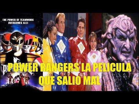 Power Rangers La Pelicula Que Salio Mal y Curiosiades