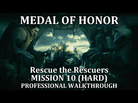 Medal of Honor: Rescue the Rescuers (Mission 10) HARD