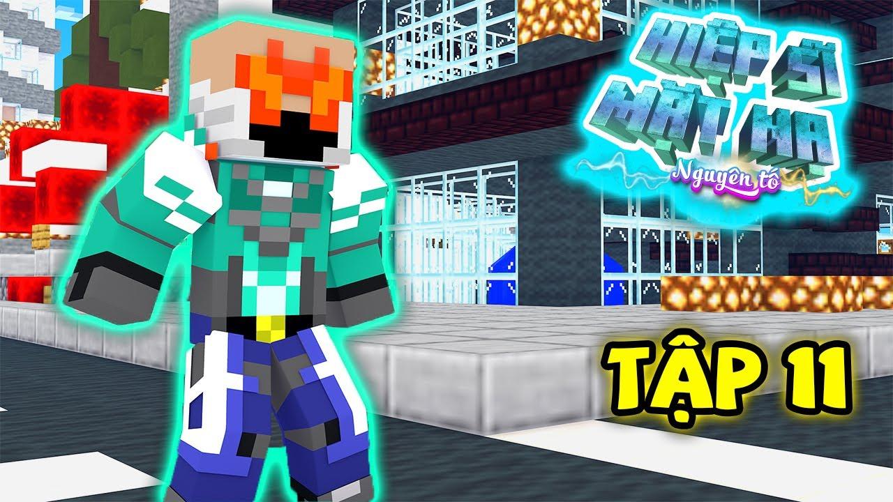 Tập 11 : Đây Là Hiệp Sĩ Mù  ??? ( Minecraft Hiệp Sĩ Mặt Nạ Nguyên Tố )