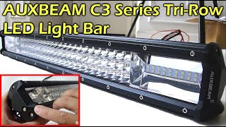 AUXBEAM C3 Series Tri-Row LED Light Bar