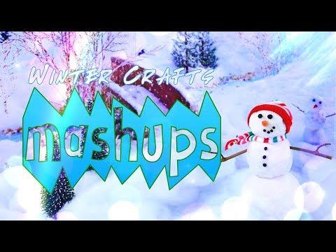 Mash Ups: Winter Time Crafts   Snow Globe   Ice Skates   Ice Skating Rink & More