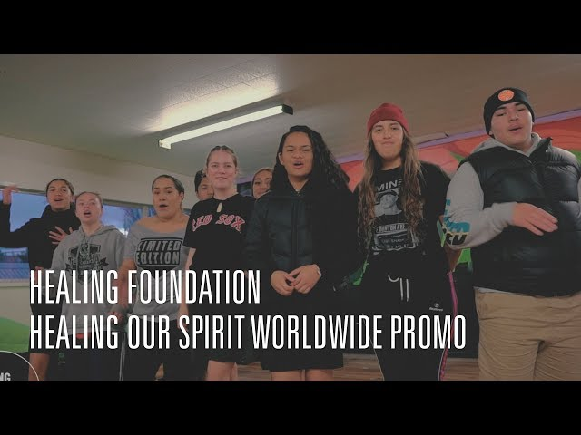 Healing Our Spirit Worldwide Promo