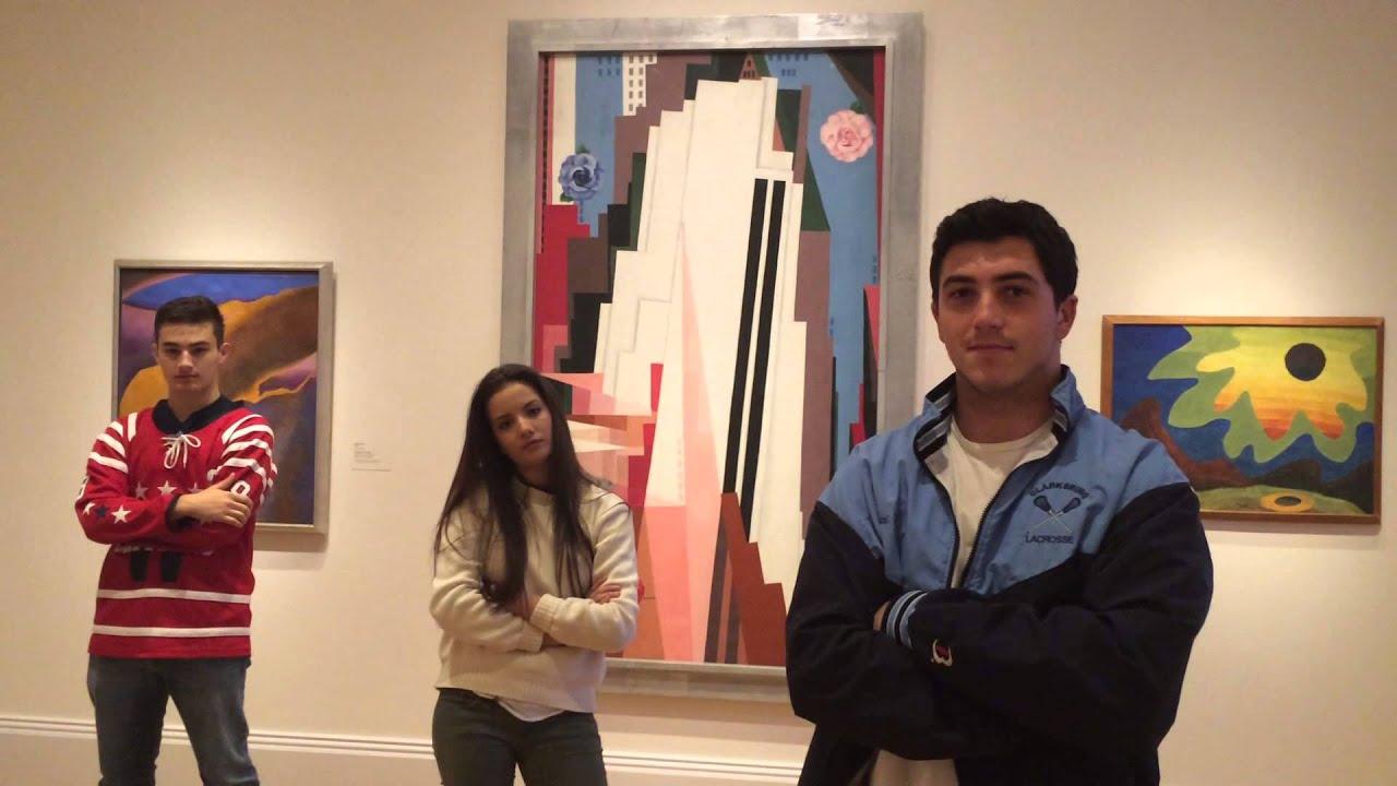 Ferris Bueller S Day Off Painting Scene