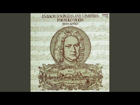 Partita I, h-moll BWV 1002 - Sarabande