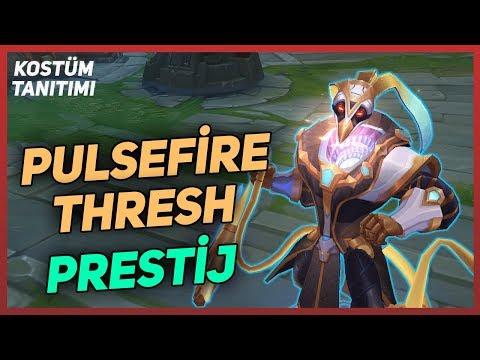 Prestij Pulsefire Thresh Kostüm Tanıtımı - League of Legends