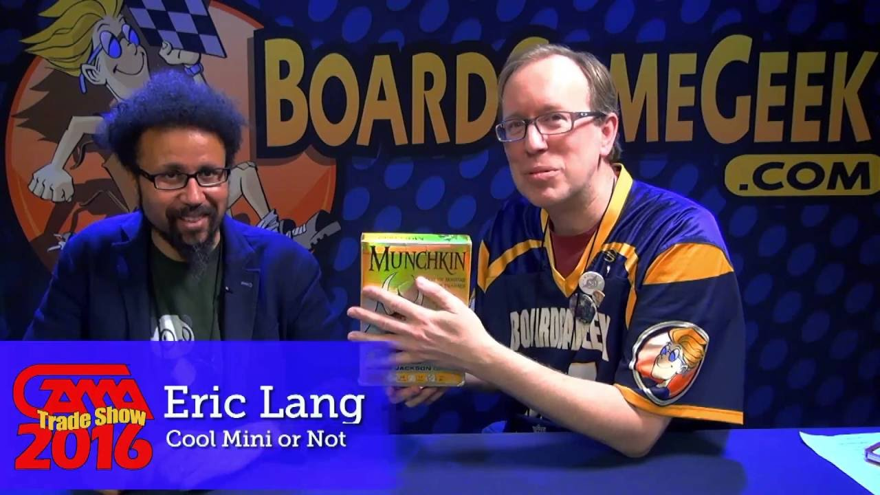 Andrea Berg Oops game previews from gama trade show 2016: munchkin: trading