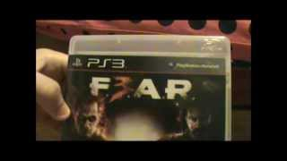 F.E.A.R. 3 unboxing (PS3)