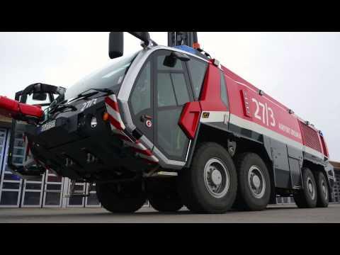 Rosenbauer Panther Fire-Brigade Truck Airport Bremen Overview