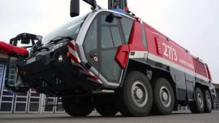 Rosenbauer Panther Fire-Brigade Truck Airport