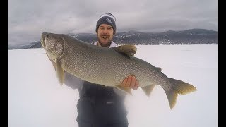 Giant Lake Trout and a Lost Rod
