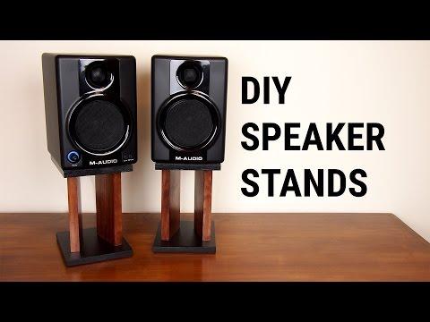 DIY Speaker Stands