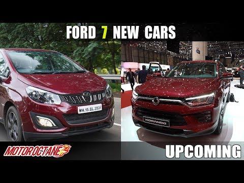 Ford 7 New Cars Coming with Mahindra | Hindi | MotorOctane
