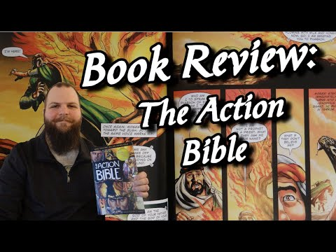 The Action Bible Christian Book Review God's Redemptive Story Graphic Novel Bible Study