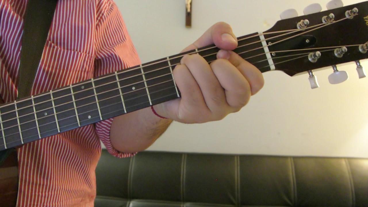 Prince Royce Culpa El Corazon How To Play Guitar Easy Guitar
