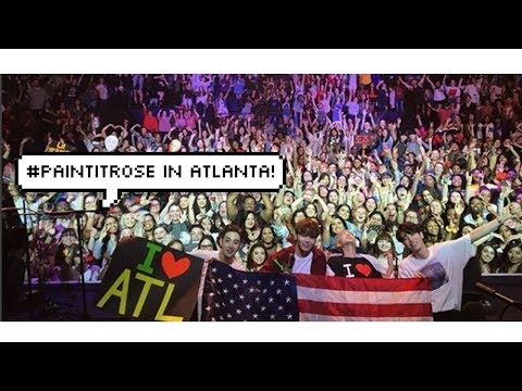 [Vlog #2] ATL Trip! (Kpop Store, The Rose Concert, and more!)