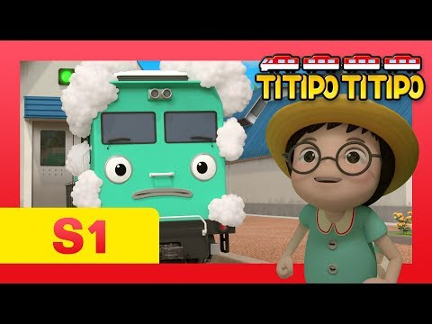 TITIPO S1 EP8 l What happens in Setter's Day Out?! l Trains for kids l TITIPO TITIPO
