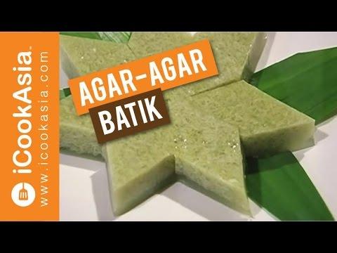 Resepi Agar-Agar Batik   Try Masak   iCookAsia