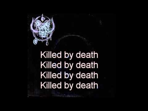 Motorhead   Killed By Death   Karaoke