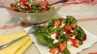 Curried Quinoa And Strawberry Salad