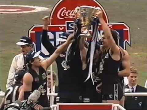 'Ballistic Blues' Rare 1995 Carlton AFL Video
