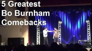 5 Greatest Bo Burnham Heckler Comebacks
