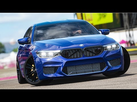 FORZA HORIZON 4 - BMW M5 F90 - GAMEPLAY PC thumbnail