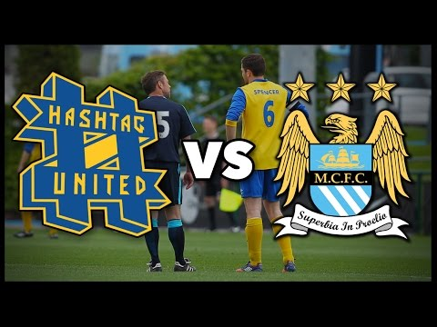HASHTAG UNITED VS MANCHESTER CITY STAFF!