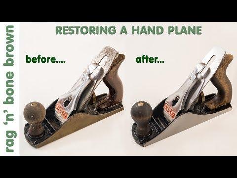Restoring A Hand Plane - vintage Stanley No. 4
