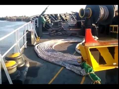 Loading coal on MV Bulk carrier
