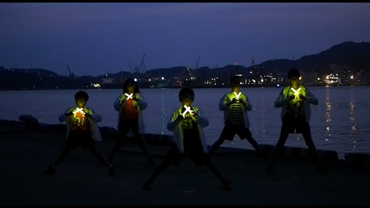 【SASEBOの打ち師達kids】恋ダンス踊ってみた5人Ver_170726