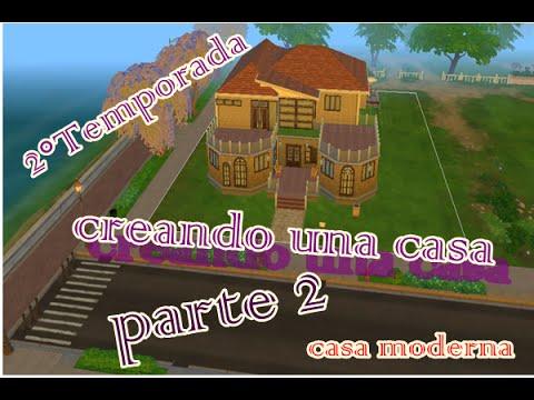 Casa moderna parte 2 los sims 4 youtube for Casa moderna los sims 4