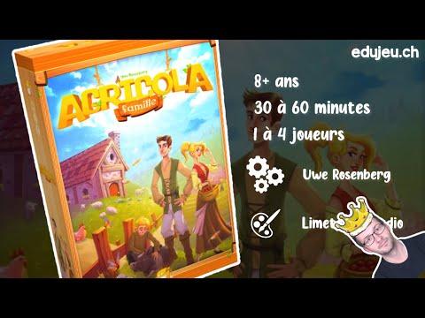 AGRICOLA est MORT, vive Agricola Famille ? ? ?