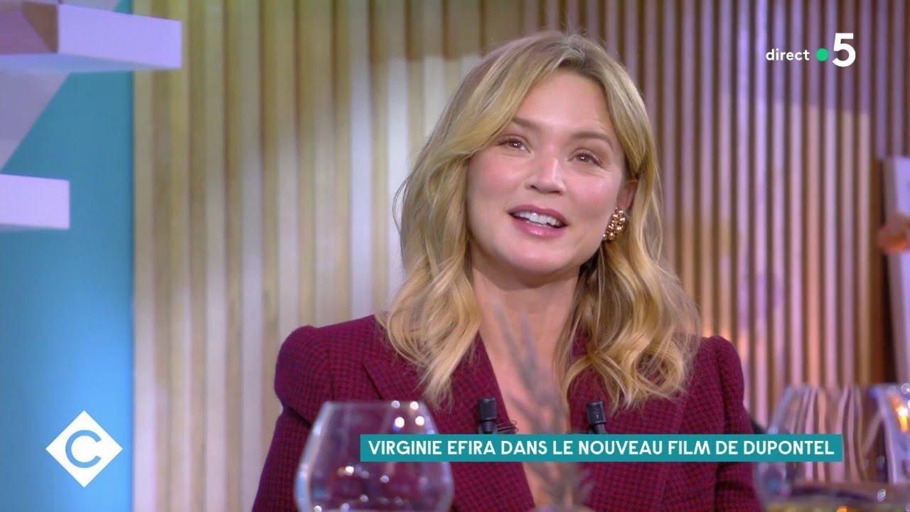 Virginie Efira, brillante dans «Adieu les cons»  - C à Vous - 19/10/2020