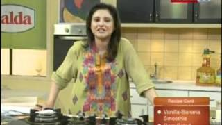 ''healthy Cooking'' - Ep# Vanilla-banana Smoothie - Corn Salad Part-1 (22-mar-12) Health Tv.mpg