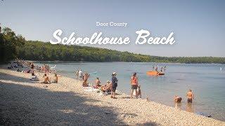 Schoolhouse Beach - Beaches of Door County, Wisconsin
